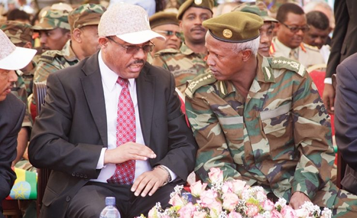 Hailemariam promotes army generals amid tension in the country