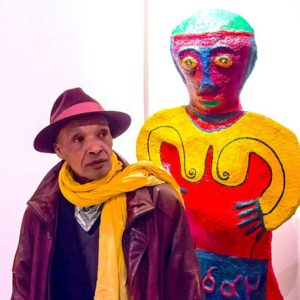 Mickaël Bethe-Selassié, the Ethiopian artist in Paris