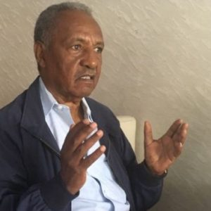 Gebru Tareke asks if the country's foundation is crumbling